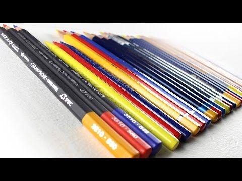 Watercolor Pencil Comparison Faber Castell Albrecht Durer Vs