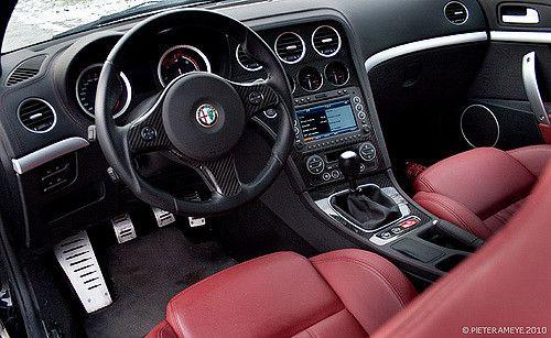 Alfa Romeo Brera Ti Interior Alfa Romeo Pinterest Alfa Romeo