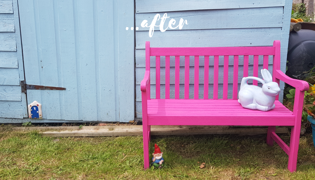 Surprising Revamping Our Garden Furniture With Pinty Plus Spray Paint Pdpeps Interior Chair Design Pdpepsorg