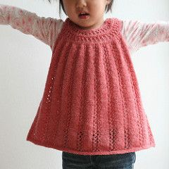 Pattern for a beautiful top, tunic or dress for the little princess.