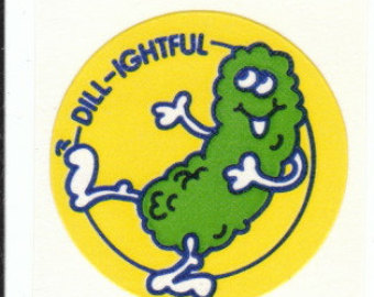 COLA Vintage TREND Matte Scratch and Sniff Stinky Stickers