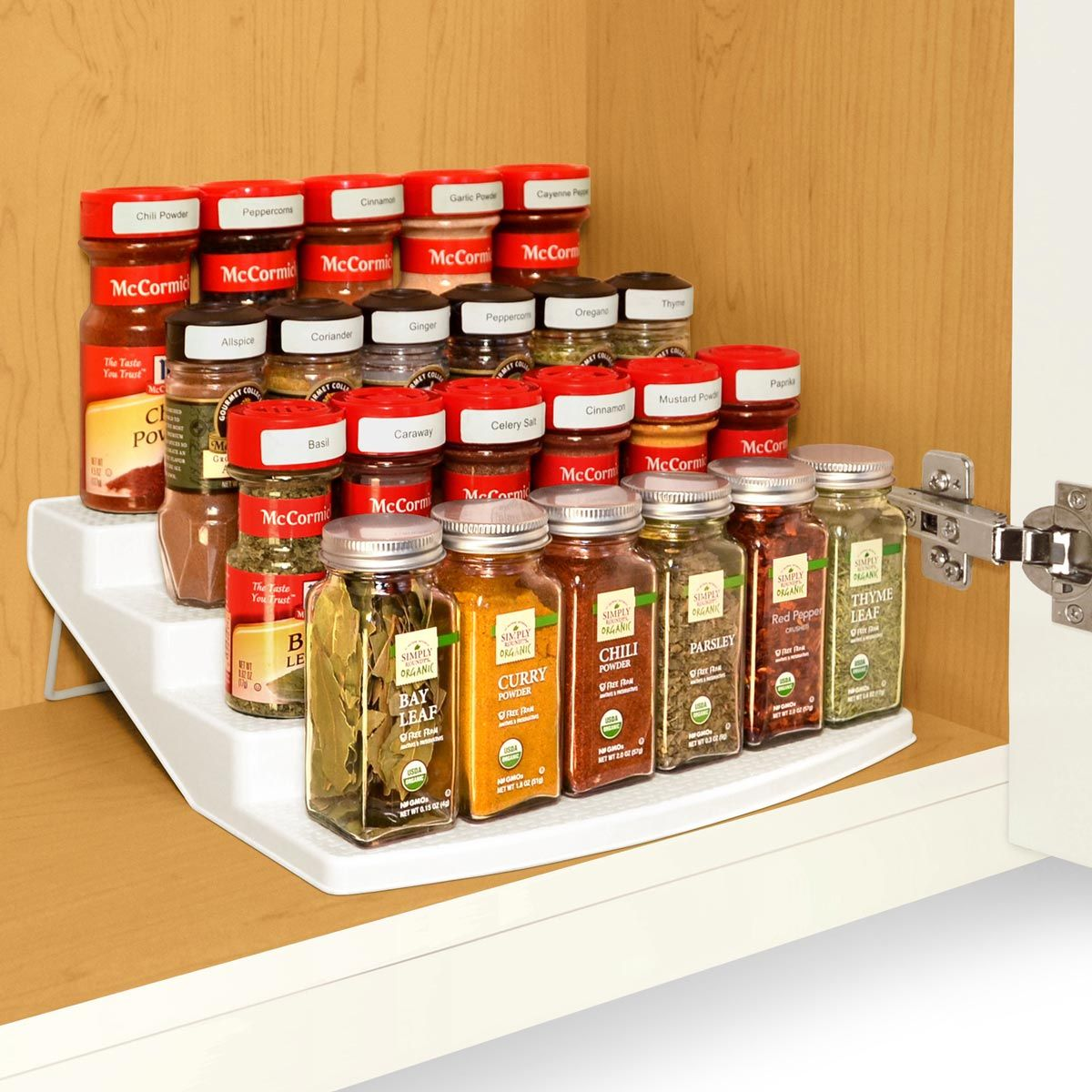 12 Ingenious Spice Storage Ideas is part of Spice Organization Rental - Chances are, you have a spice cabinet that is unorganized, making it difficult to find what you need when you need it  Here are 12 ingenious spice storage ideas you can try in your kitchen