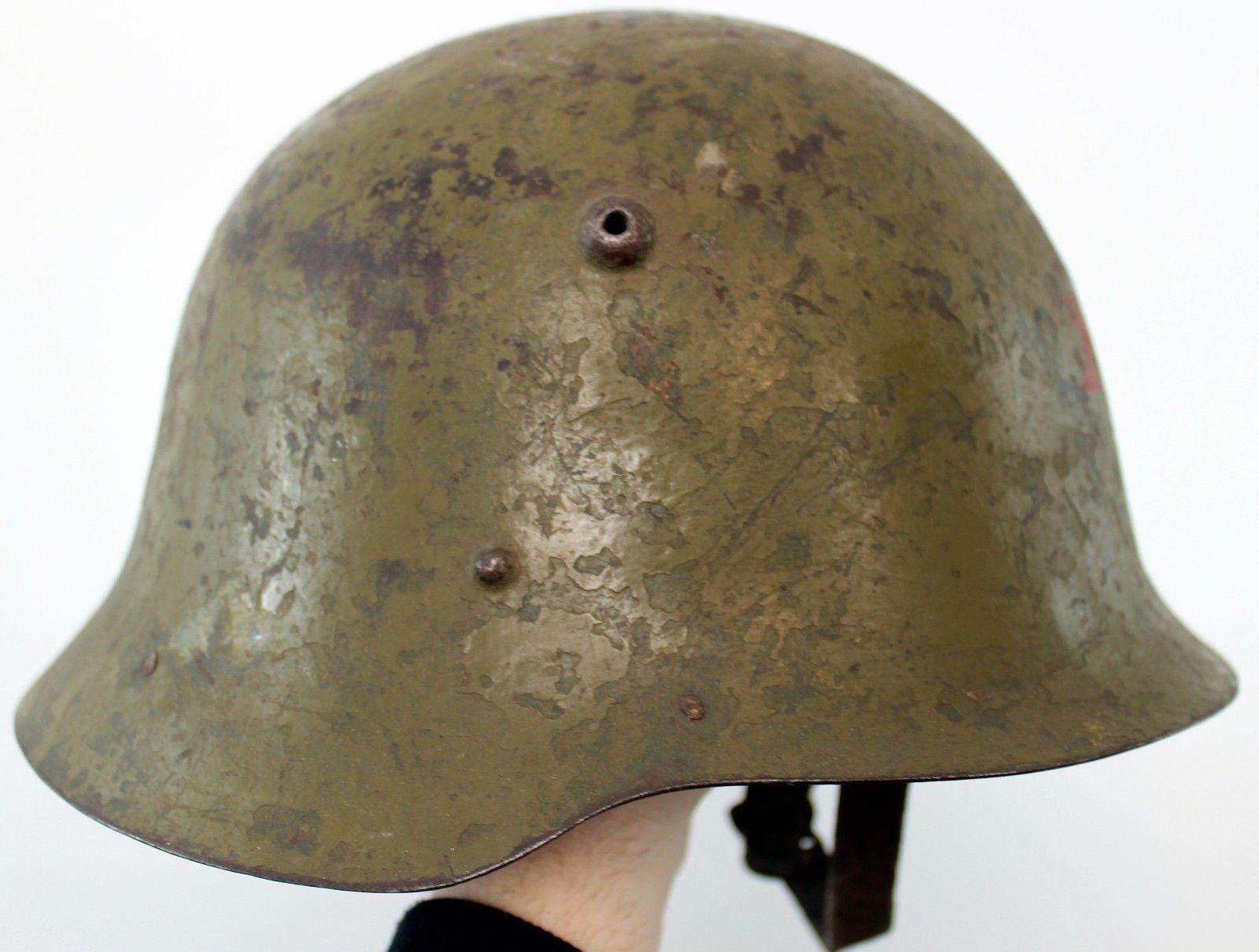 (5) GENUINE WW2 BULGARIA BULGARIAN ARMED FORCES M36 STEEL HELMET 59cm | eBay