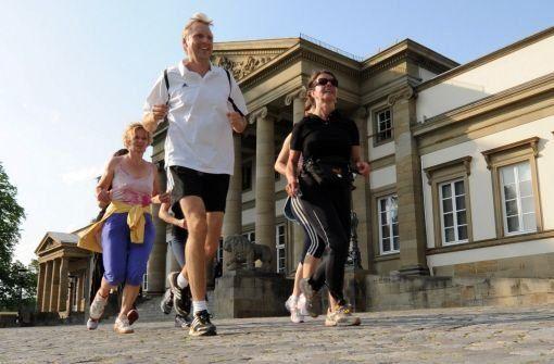 Best running routes around Stuttgart Germany