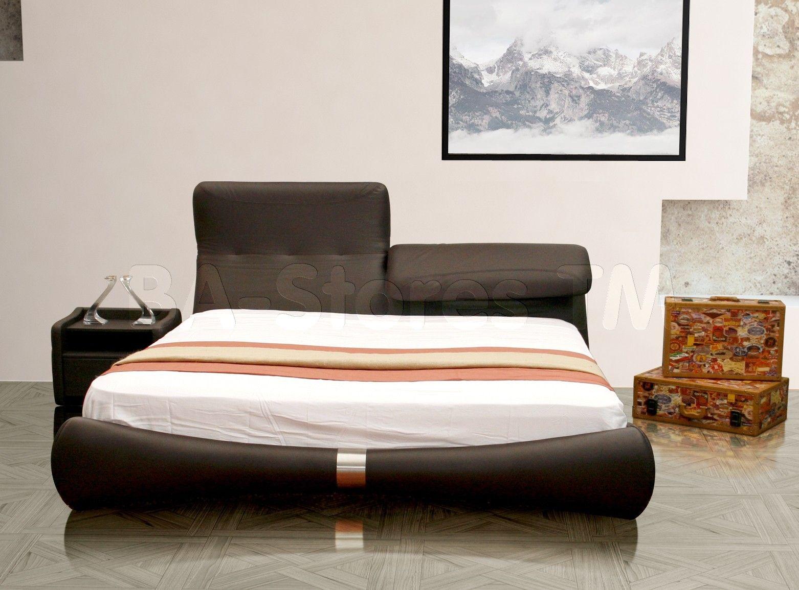 adjustable headboard platform beds | Luxe King Platform Bed with ...