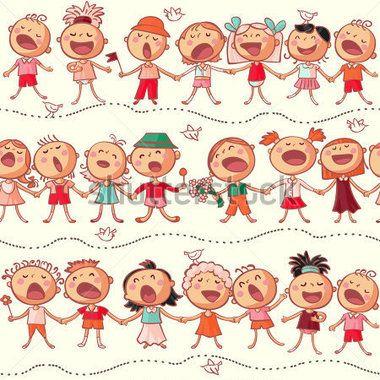 Chorale De Noël Clip Art Libres De Droits , Vecteurs Et Illustration. Image  24054598.