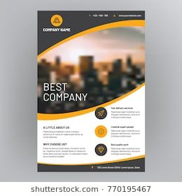company brochure corporate flyer cover design flyer design