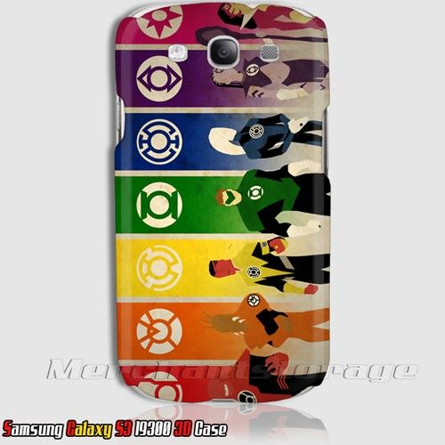 Best Buy Lantern Corps Ring Symbol Superhero Samsung Galaxy S3 3d