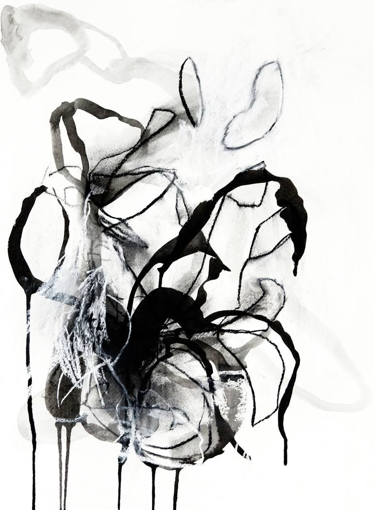 Melodic Minor Nº 6 Drawing Monochrome Art Drawings Nature Drawing