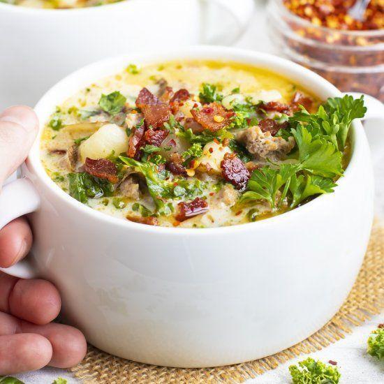 Zuppa Toscana Soup -  - #Genel #zuppatoscanasoup Zuppa Toscana Soup -  - #Genel #zuppatoscanasoup