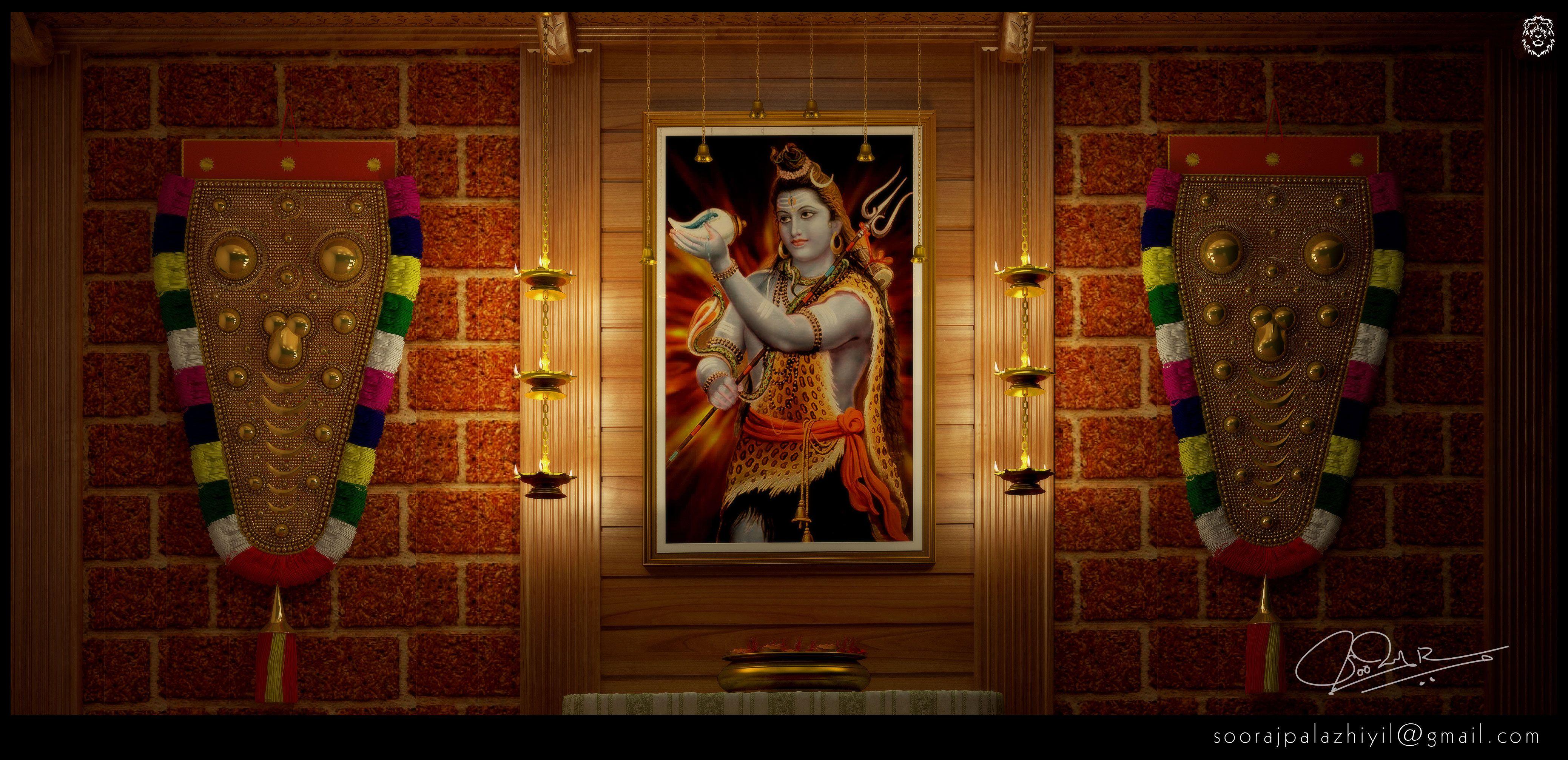 Pooja room designs kerala joy studio design gallery best design - Pooja room door designs in kerala ...