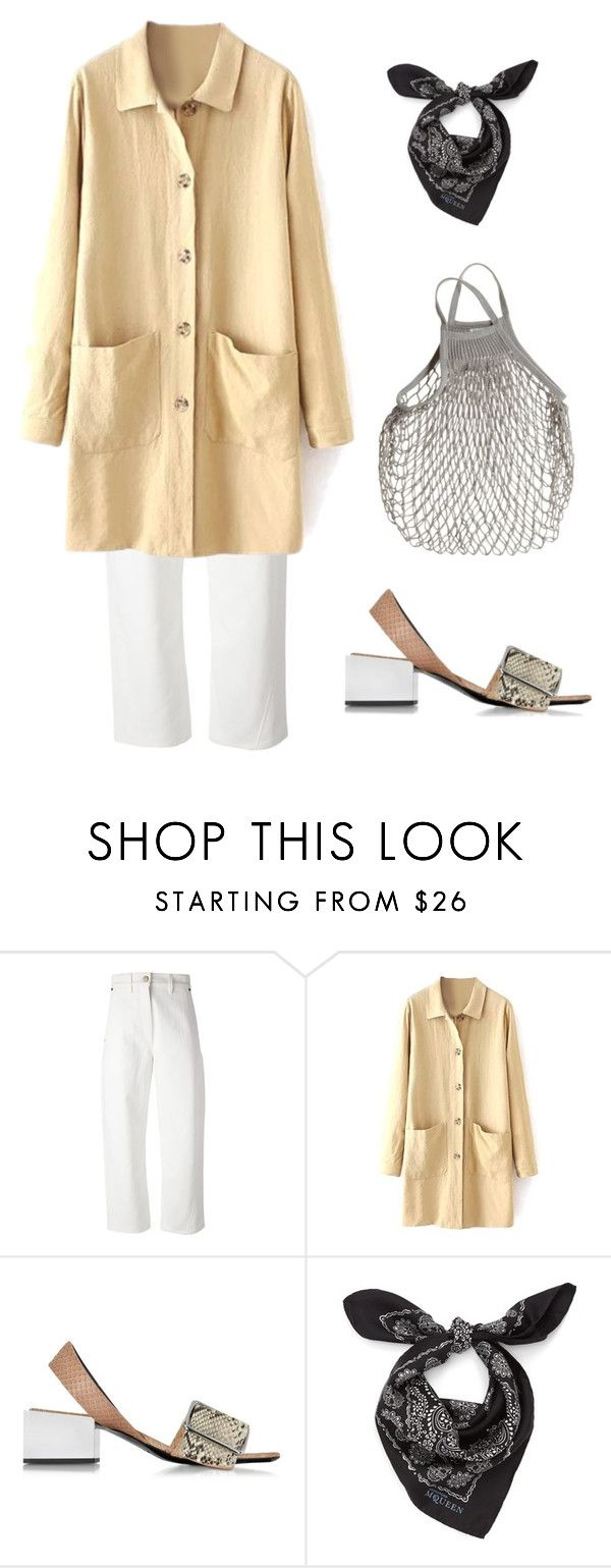 """""""Untitled #708"""" by lucyshenton ❤ liked on Polyvore featuring Lemaire, Jil Sander and Alexander McQueen"""