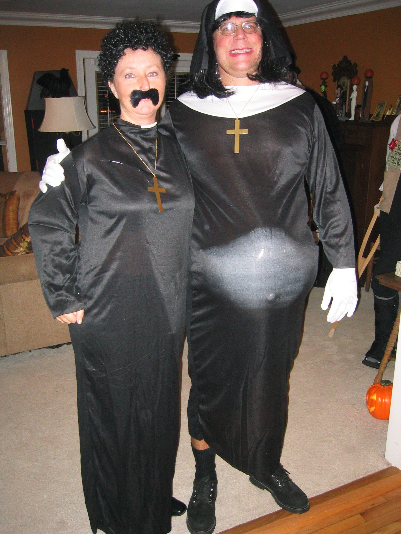 A Sexy Nun Costume For Halloween | Nun Costumes | Pinterest | Nun ...