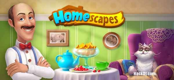 Homescapes Hack 3.4.3 (MOD,Unlimited Stars) Apk in 2020