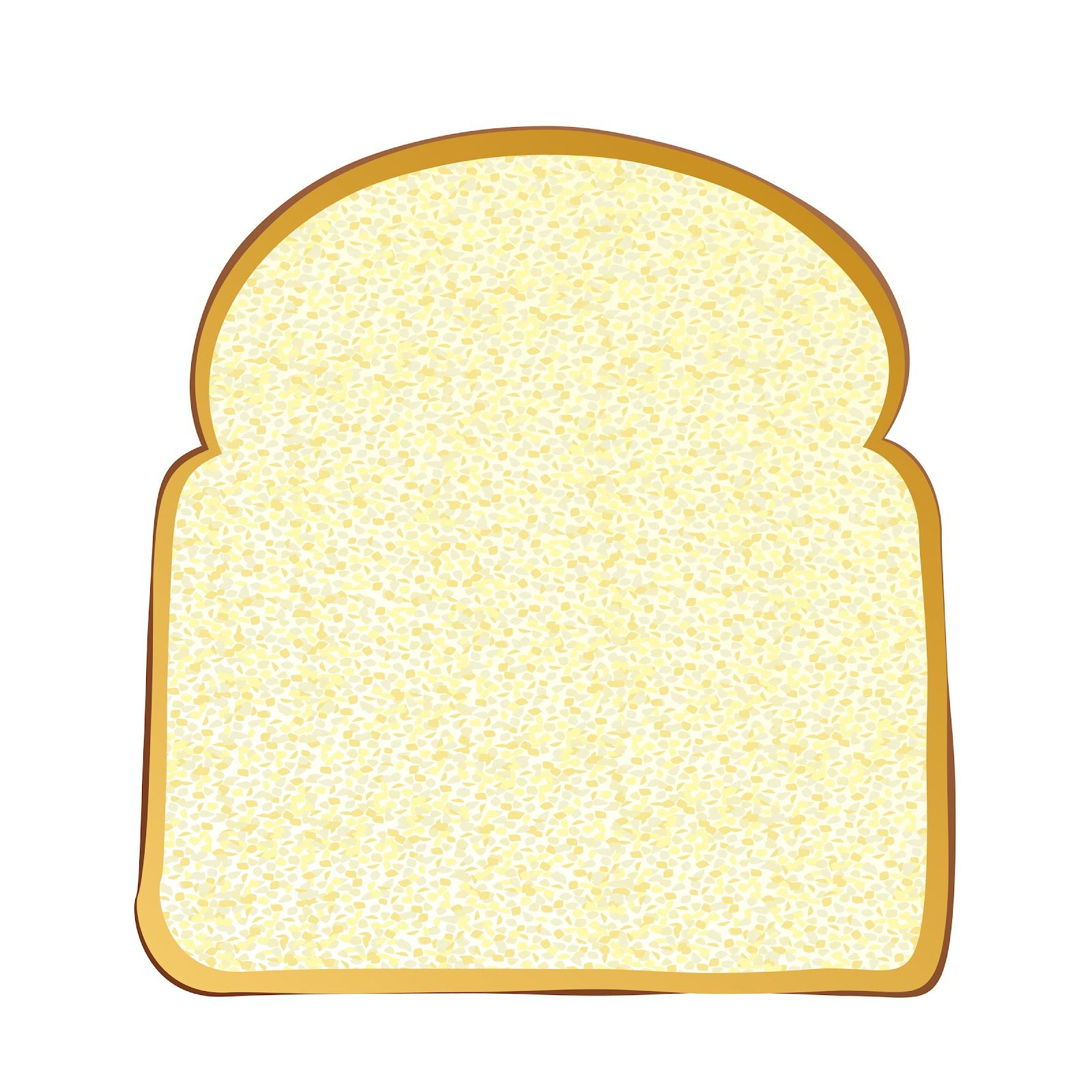 slice of bread template | get bread toast bread get knife | coloring ...