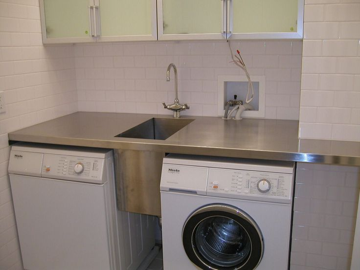 Very Clever Use Of Space And Extremely Functional Laundry Room Sink Laundry Sink Modern Laundry Rooms