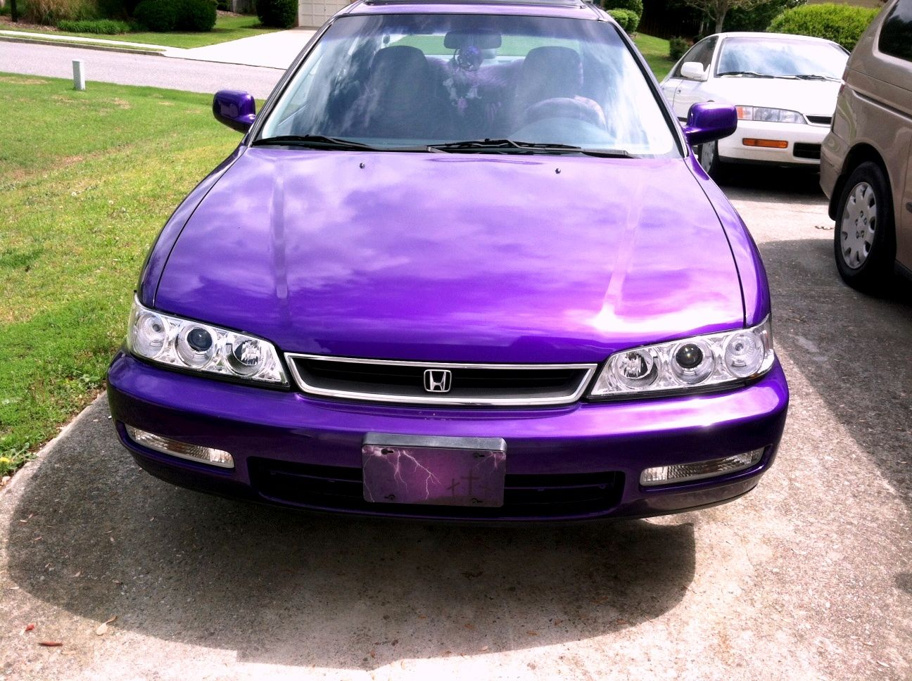 Purple Car My Car S Name Was Eggplant Eggy For Short Due To Her Original Color She S Not Much Of An Eggplant Anymore But The Name Purple Car Purple Car