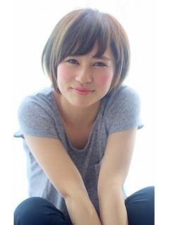 中学生髪型女子ショート ヘアスタイリング 斜め前髪 キッズ ヘア
