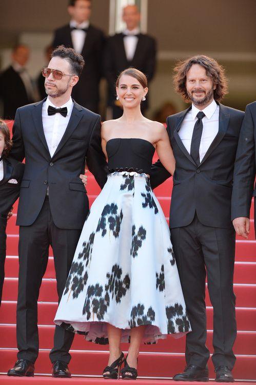 Natalie Portman en Christian Dior haute couture printemps-été 2015 et bijoux De Grisogono