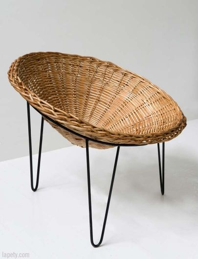 Metall · Spa Chair. This Comfortable Wicker Chair Was Designed In The 19th  Century For The Vimeiro