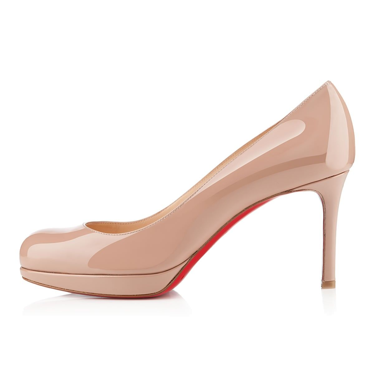762bb5a84ecc New Simple Pump 85 NUDE Patent Leather - Women Shoes - Christian ...