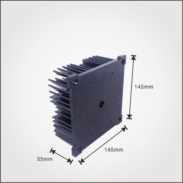 Led Pin Fin Heatsink Used In Led Cob Lights Made Of
