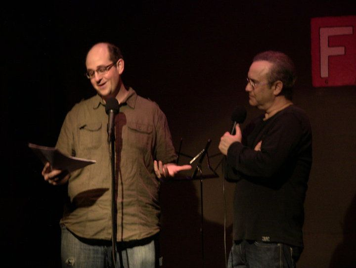 Ethan Berlin and David Feldman. Ethan is one of David's favorite comedy writers.