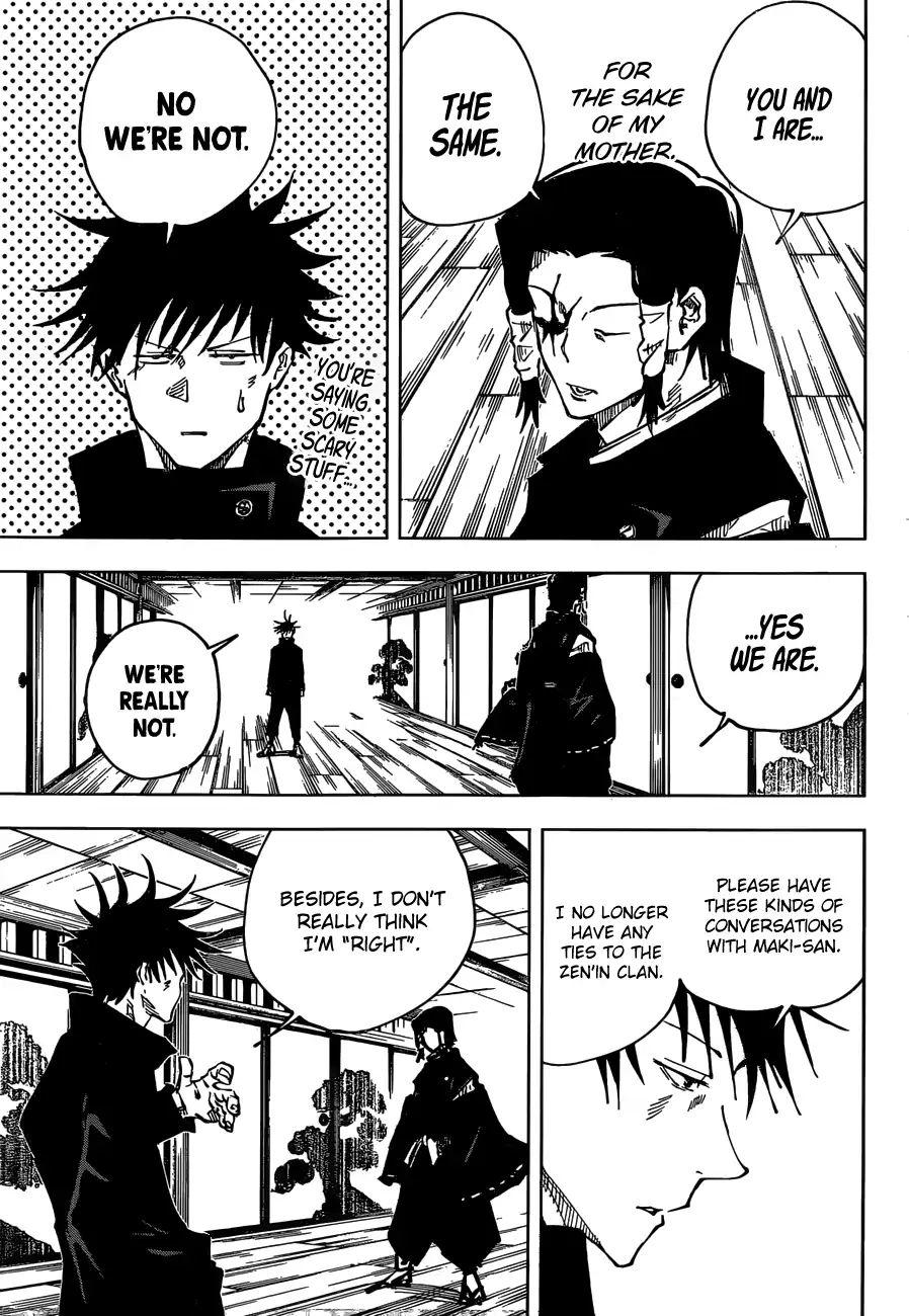 Jujutsu Kaisen Chapter 44 Kyoto Sister School Goodwill Event Team Battle Part 11 Page 6 Manganelo Com Jujutsu Manga Manga Online Read