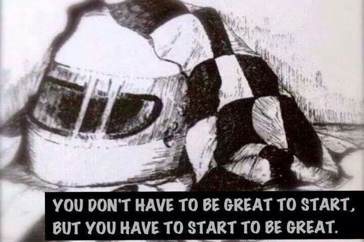 I love the quote | Words to live by | Kart racing, Dirt