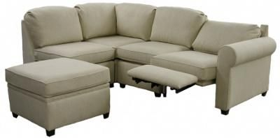 Iadonisi Roth Sectional Sofa shown in Linen Blend fabric Sectional Sofa · Small Sectional SofaReclining ...  sc 1 st  Pinterest : small sectional reclining sofa - islam-shia.org