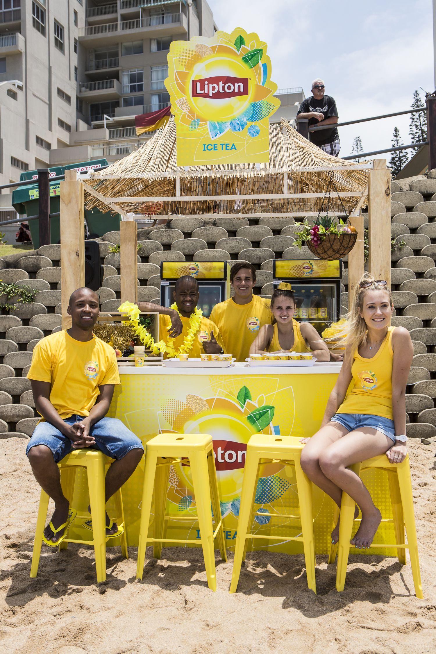 Taste The Brightside Lipton Summer 2014 Umhlanga Beach  # Horario Muebles Gume