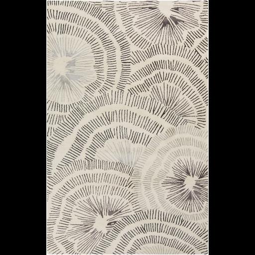 Naya Ivory Grey Amp Charcoal Rug Design By Surya Carpets
