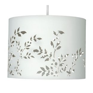 Flower cut out shade cream 30cm from homebase in the flower cut out shade cream 30cm from homebase mozeypictures Images