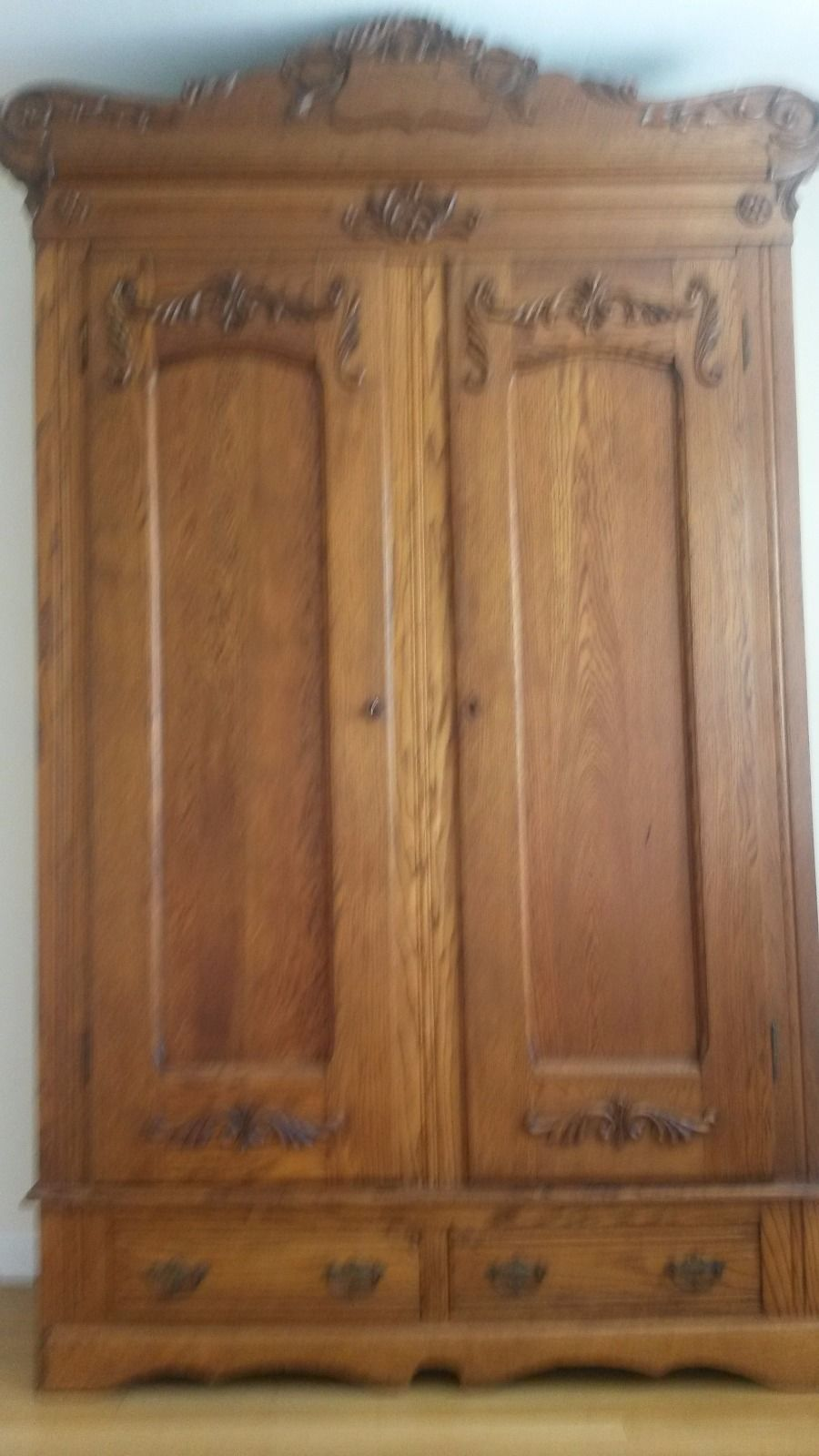 Details about Antique Armoire antiques Antique armoire