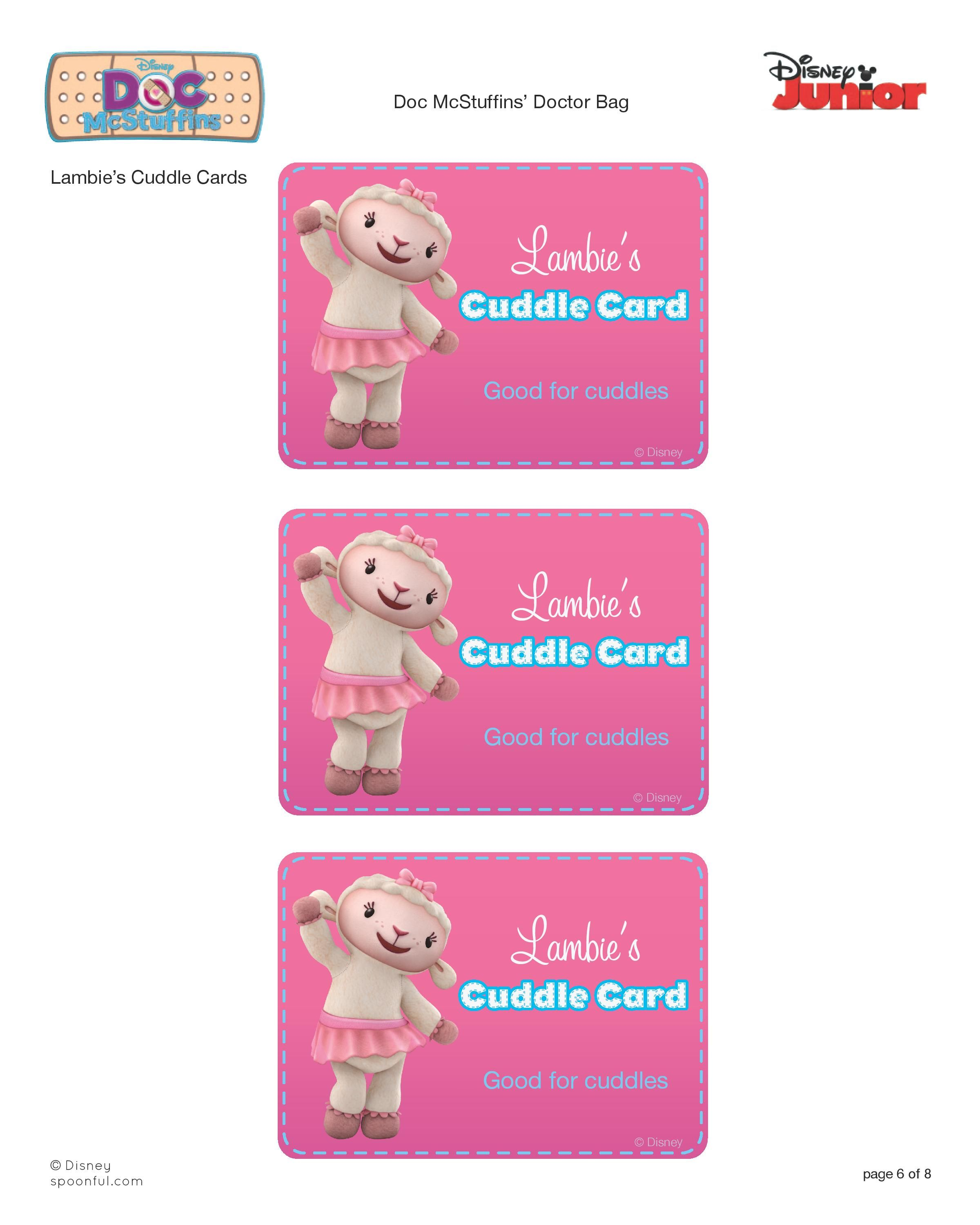 Doc mcstuffins bandages doc mcstuffins party ideas on pinterest doc - Toys And Stuffed Animals Will Always Feel Better Knowing You Re Close By With Doc Mcstuffins Doctor Kit