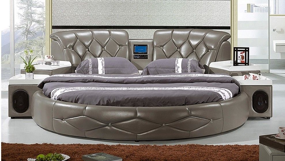 11 beautiful and cheap round bed for luxury home Round