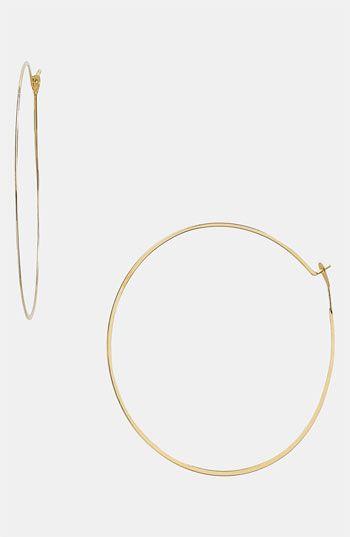 michael kors whisper hoop earrings • nordstrom • $45 classic