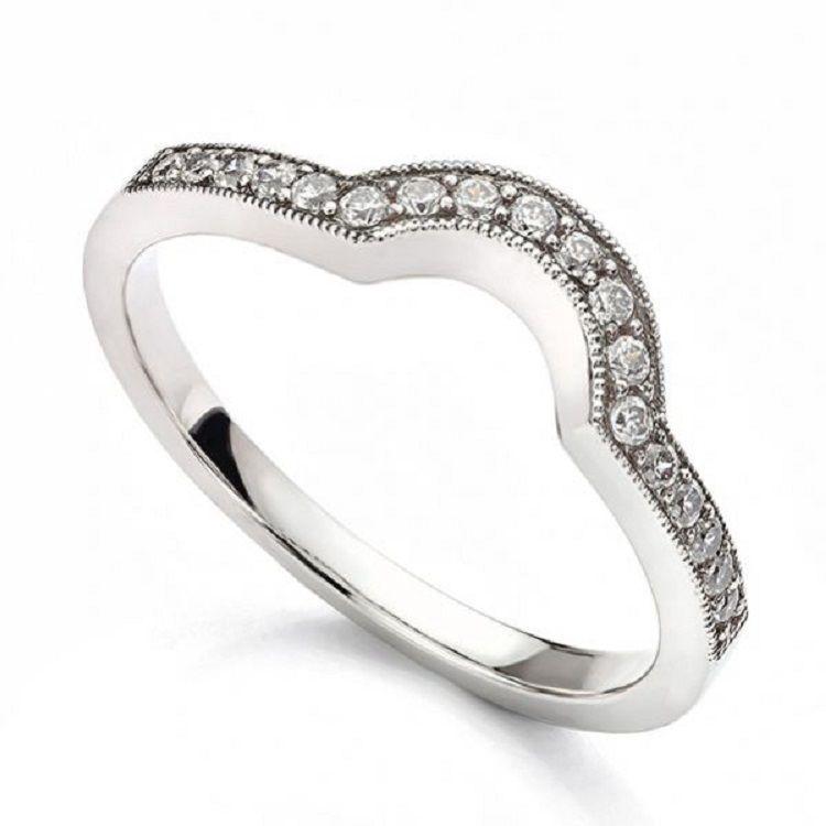 Horseshoe Shaped Wedding Ring