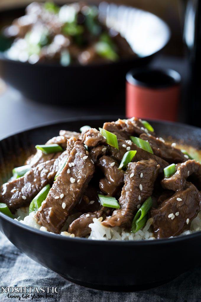 Pf Chang S Gluten Free Mongolian Beef Copycat Recipe Food