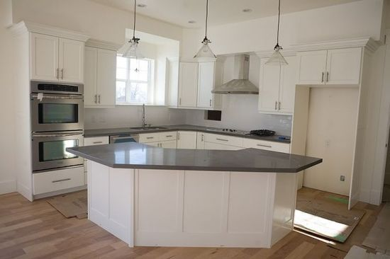 An Oddly Shaped Kitchen Island: Pin By Sharon Thomson On Kitchen Ideas