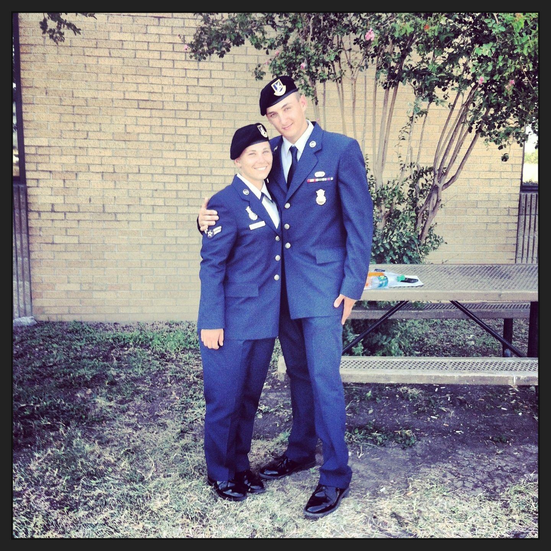 Tech School Graduation USAF Security Forces | Life