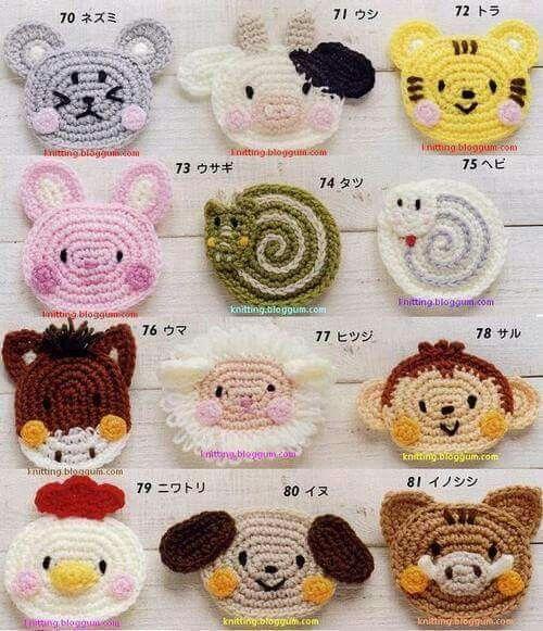 Tiere #crochetbowpattern