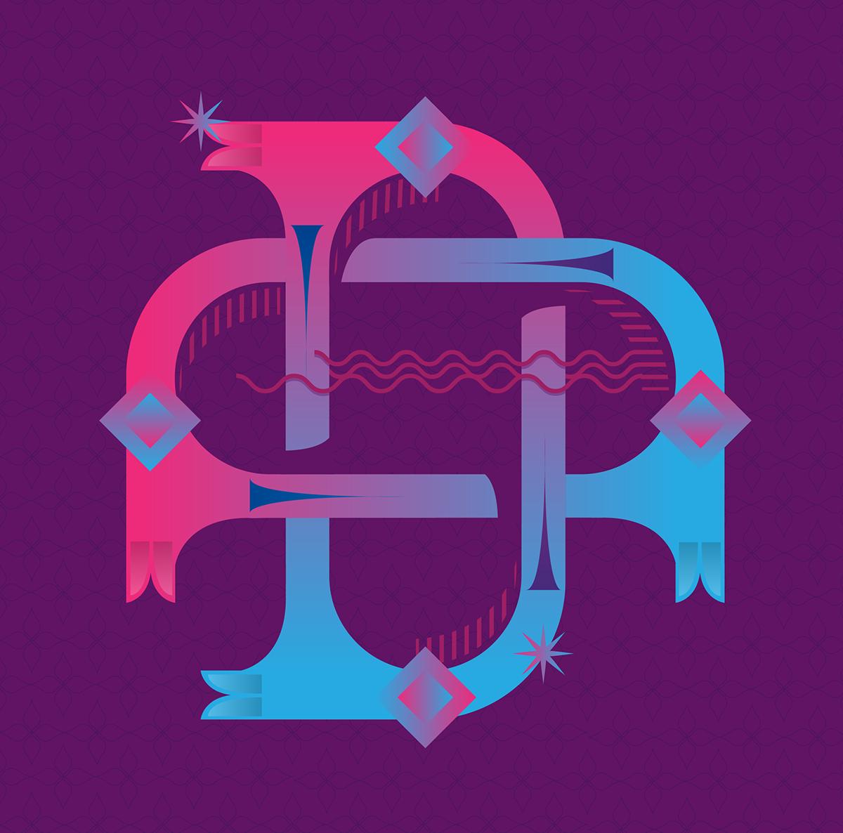 36daysoftype on Behance #typography #type #illustration