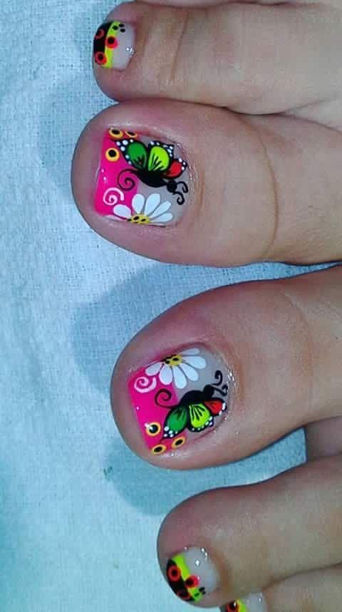 Pin de Leidy Amarillo en Uñas | Pinterest | Diseños de uñas ...