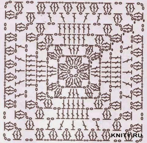 Сказочный ДОМИК: Схемы вязания \