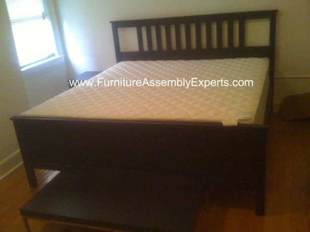 Ikea King Size Hemnes Bed Frames Assembled In Washington Dc By