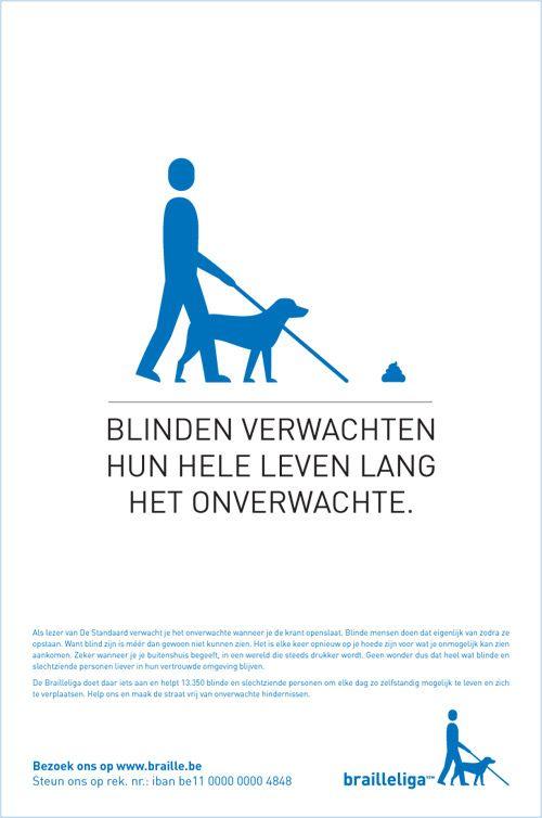 Brailleliga, België (augustus 2013).