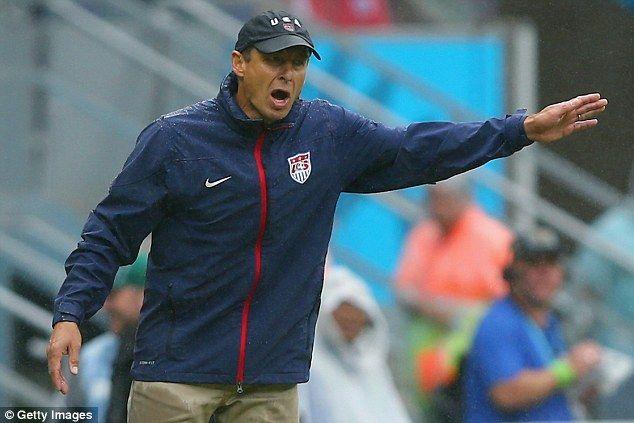 Usa 0 1 Germany Muller Nets Winner As Both Sides Progress To Last 16 Jurgen Klinsmann Athletic Jacket Germany