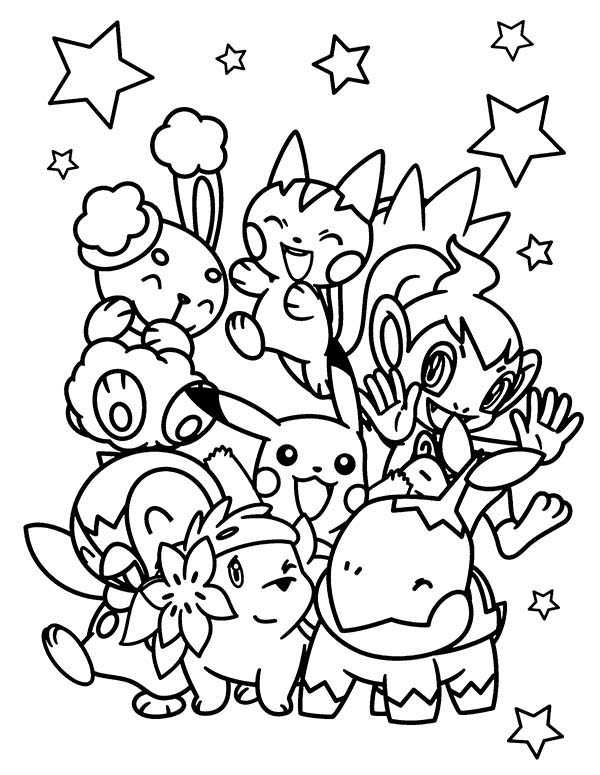 All Pokemon Chiby Characters Coloring Pages Bulk Color Pokemon Coloring Sheets Pokemon Coloring Pages Pokemon Coloring