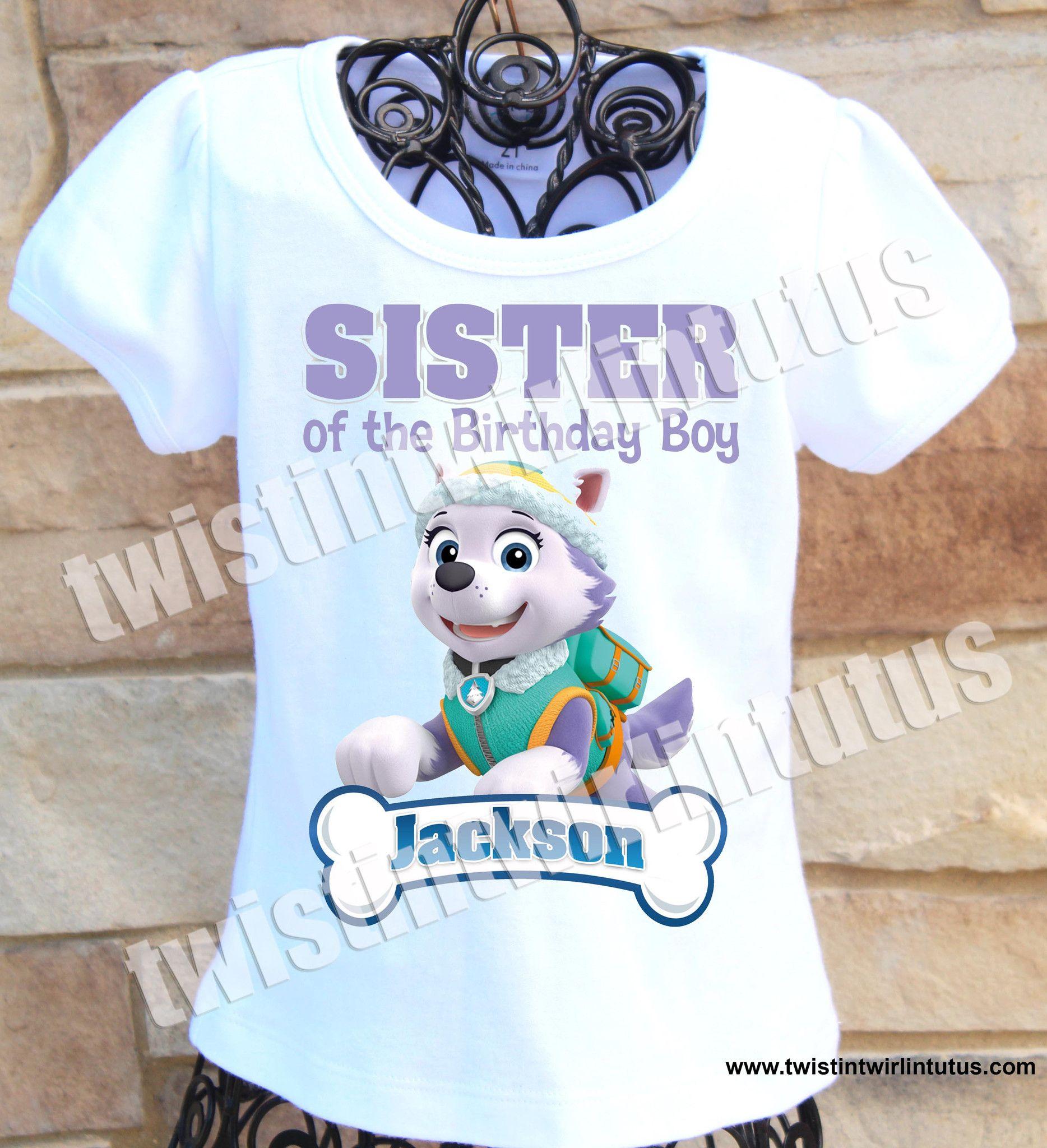 Paw Patrol Sister Shirt